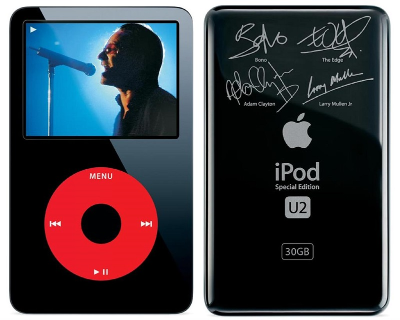 애플과 프로덕트 레드의 만남은 아이팟 클래식 U2 에디션부터 시작한다.