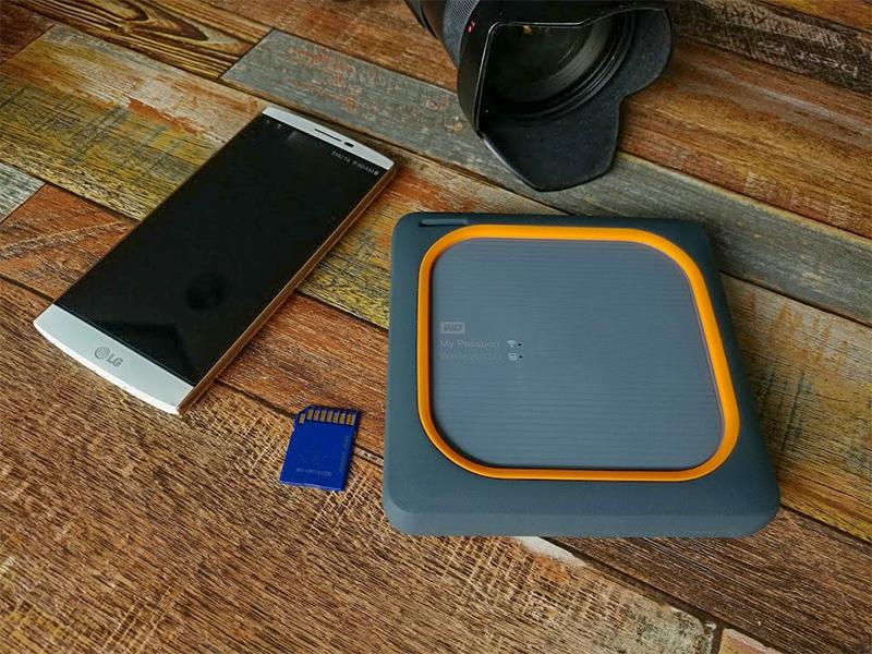 마이패스포트 와이어리스 SSD