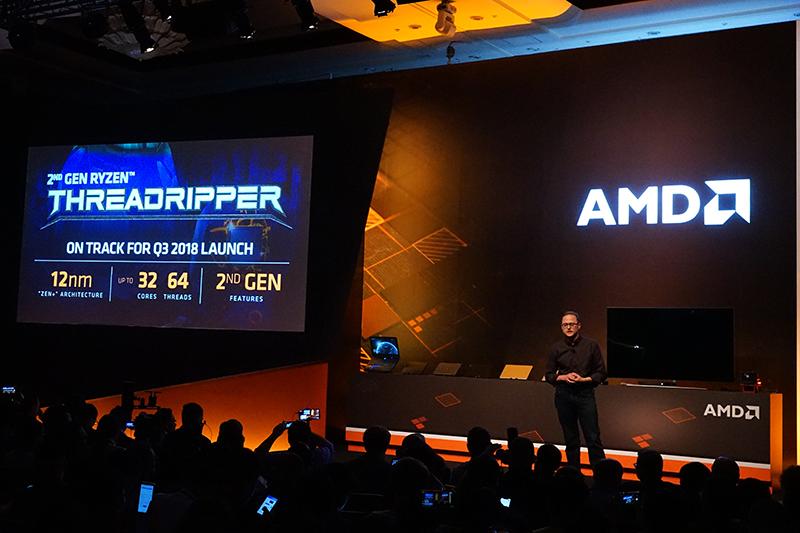 컴퓨텍스 2018 기간 중 발표된 32코어의 2세대 쓰레드리퍼