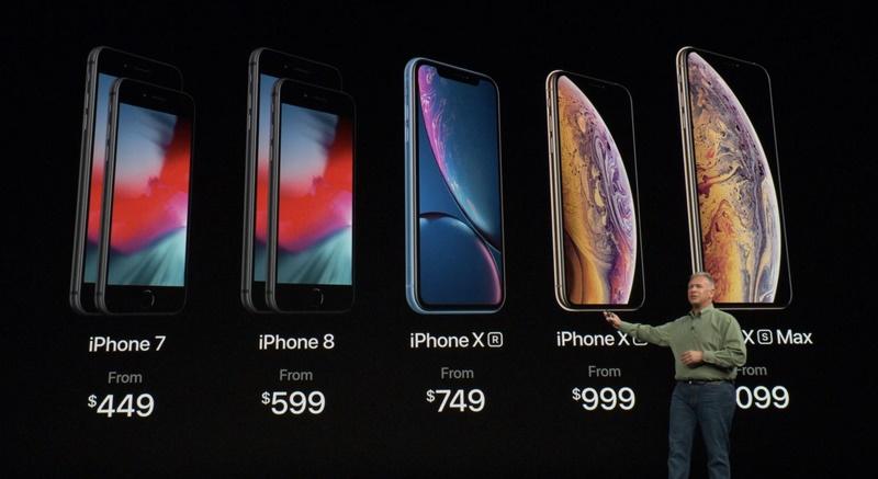 신형 아이폰 시리즈를 설명하는 필립 실러 애플 부사장