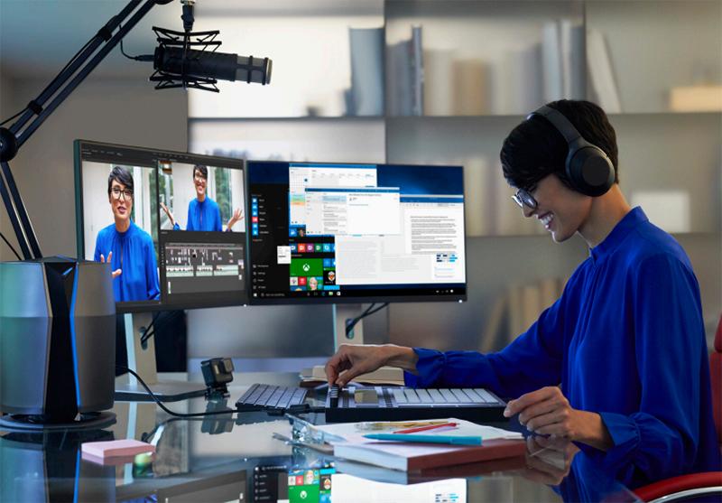 데스크톱의 성능은 편집은 물론, 게임과 방송 송출을 동시에 하는 등의 멀티 태스킹에 큰 역할을 한다