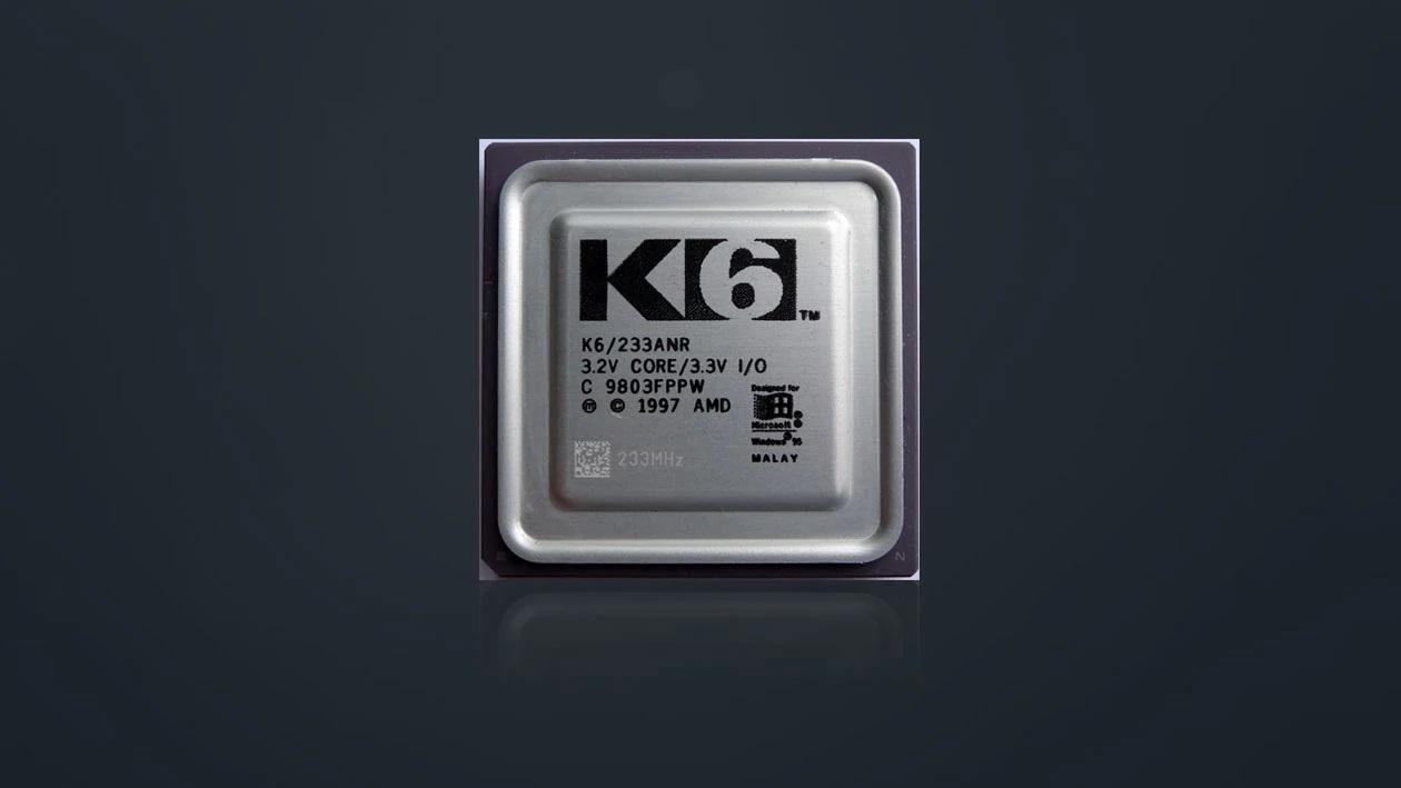 K6 프로세서는 PC 가격을 낮추는데 크게 기여했다.