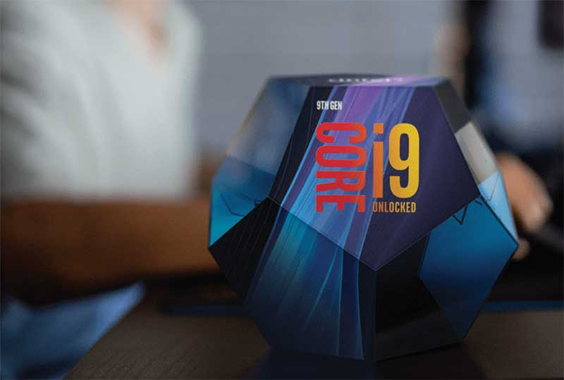 성능 제한이 해제된 9세대 코어 i9 프로세서
