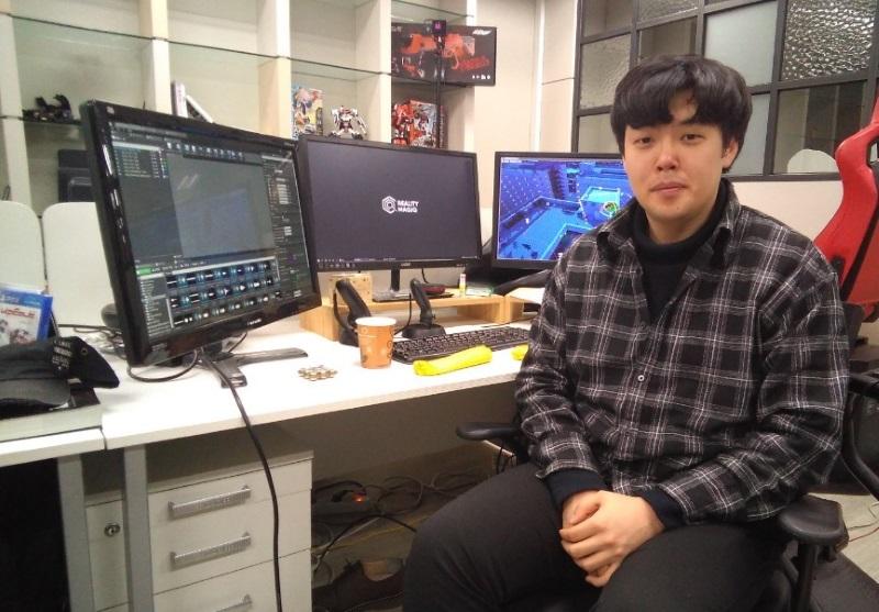 리얼리티매직의 VR개발자 김광명 씨