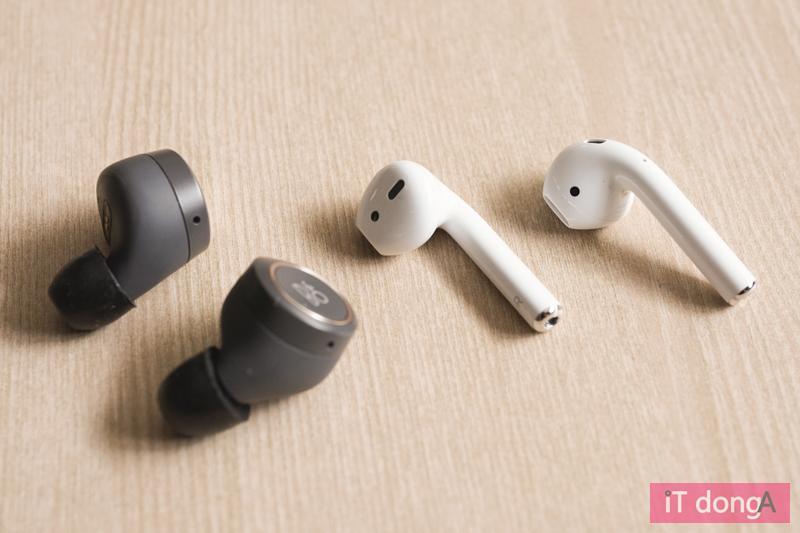 다양한 형태의 완전 무선 이어폰