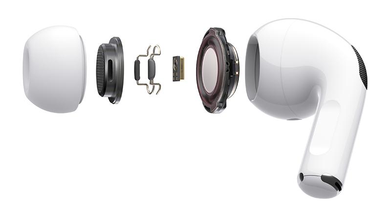 애플 에어팟 프로의 내부 구조  (제공=애플코리아)