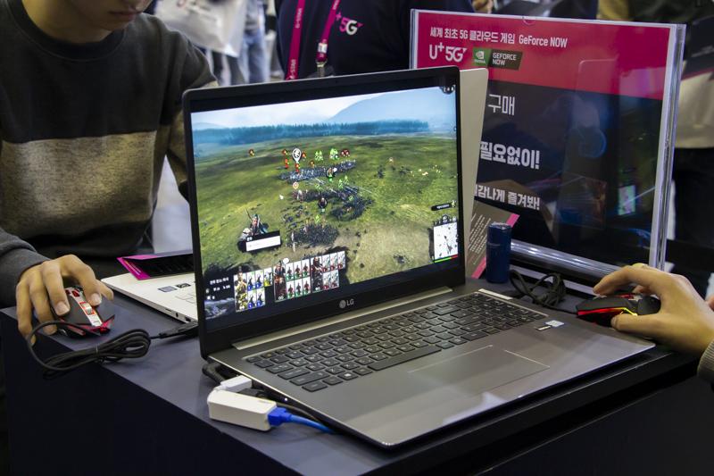 지포스나우를 이용해 내장 그래픽 노트북으로 토탈워: 삼국을 즐길 수 있다.