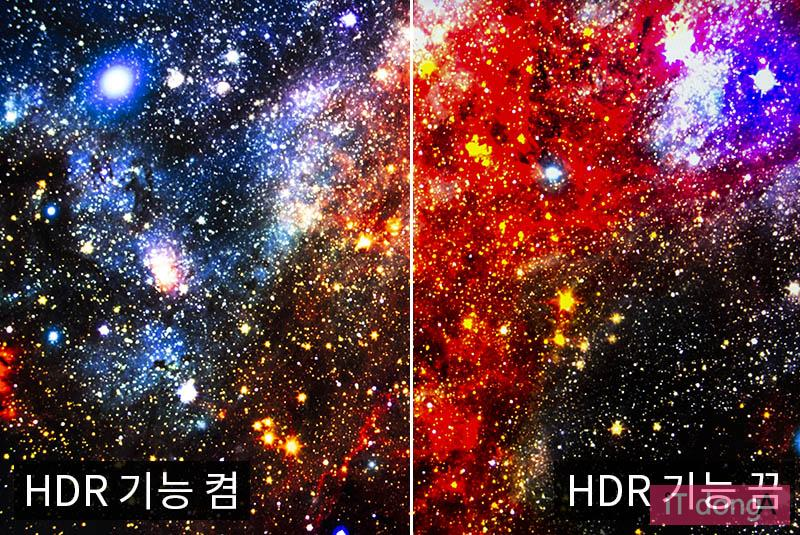 HDR은 실제 눈으로 보는 것이 정확하다.