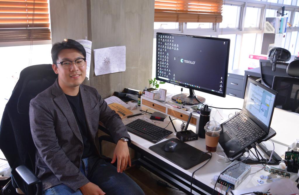 서부 경기문화창조허브 5층에 입주 중인 테솔로 김영진 대표