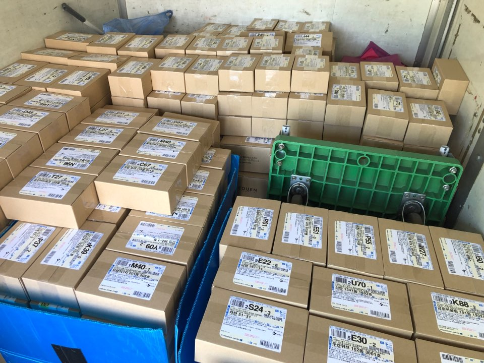 누보 로제타 첫 배송 당시의 모습, 출처: 테솔로