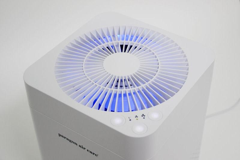 현재 공기질을 LED로 알려준다