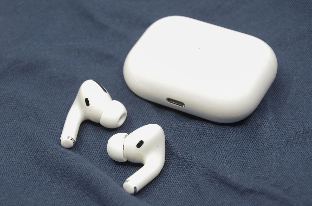 애플 에어팟 프로.