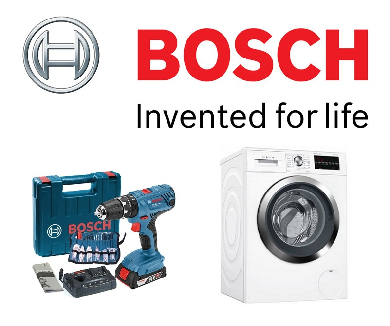 독일 보쉬(BOSCH)의 사업 영역은 공구나 부품 뿐 아니라 생활 가전 부분도 상당한 비중을 차지한다
