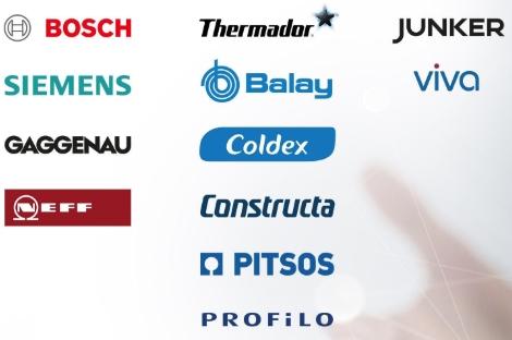유럽의 대표적인 가전 제조사 그룹인 'BSH 홈 어플라이언스' 산하의 브랜드들