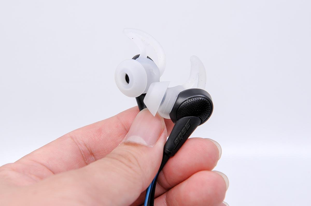 보스 콰이어트컴포트 20 어쿠스틱 노이즈 캔슬링 이어폰.