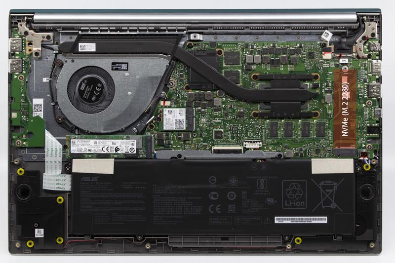 내부에 NVMe M.2 SSD를 하나 더 추가할 수 있는 공간이 마련돼있다. 출처=IT동아