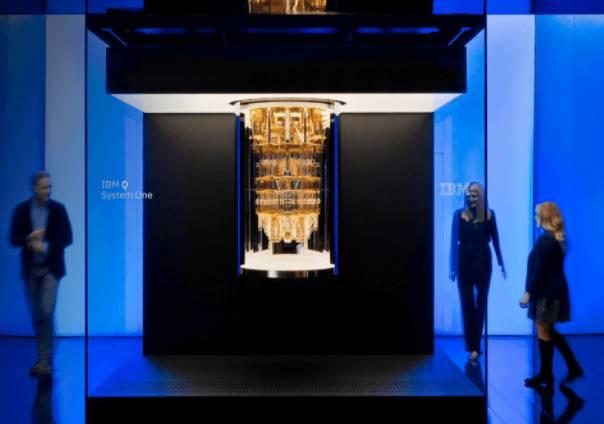 IBM의 양자컴퓨터인 'Q 시스템 원' (출처=IBM)