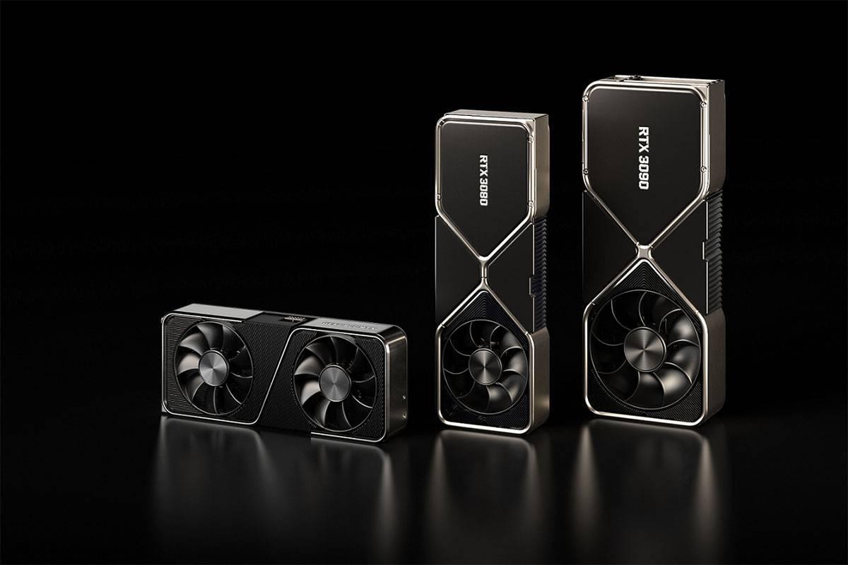 지난 9월초 엔비디아가 공개한 RTX 30 시리즈 그래픽카드