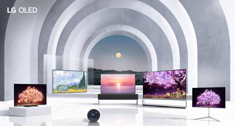 LG전자의 신형 OLED TV 제품군(출처=LG전자)
