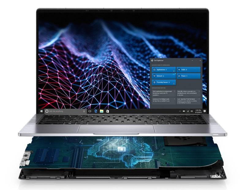AI 기반 '델 옵티마이저' 기술을 탑재한 래티튜드 9420 노트북 (출처=델 테크놀로지스)