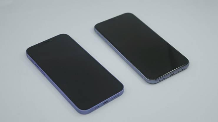 아이폰 12 퍼플과 아이폰 11 퍼플