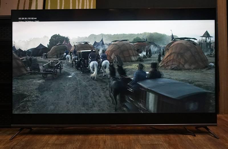 4K UHD 화질로 재생되고 있는 넷플릭스 영화