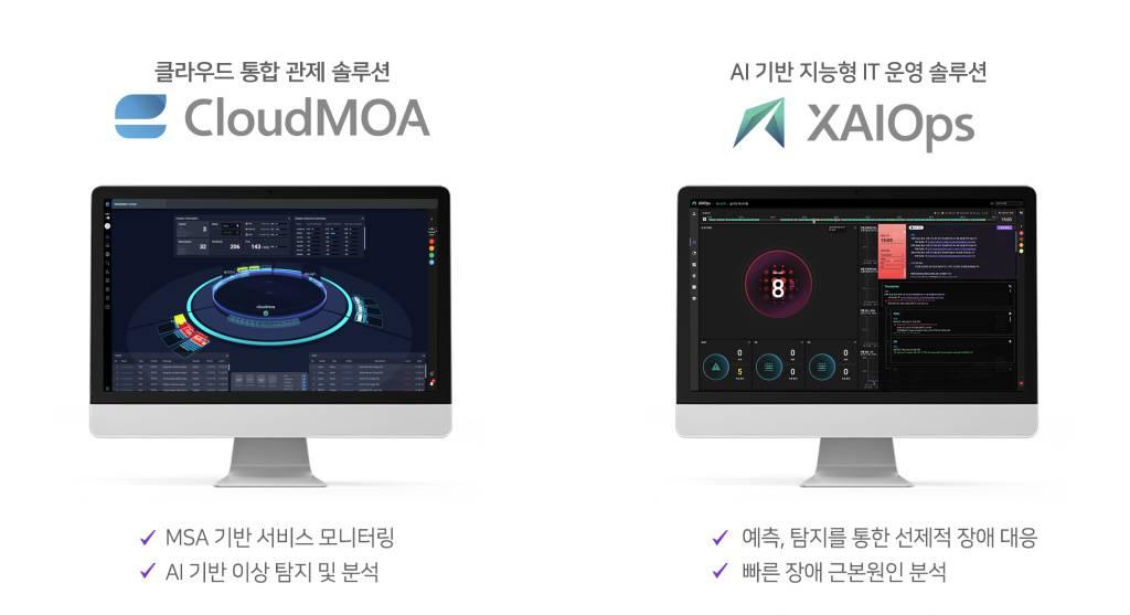 엑셈의 클라우드모아와 싸이옵스, 출처: 엑셈
