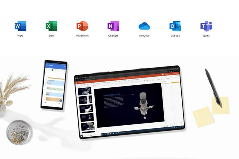 구독형 소프트웨어인 마이크로소프트 365. 출처=마이크로소프트