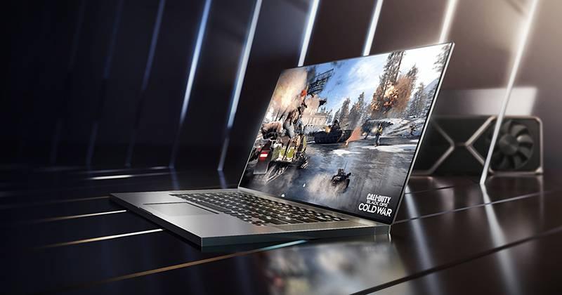 엔비디아 지포스 RTX 3050 노트북. 제공=엔비디아