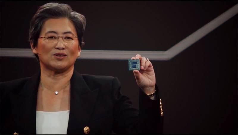 3D 트리플릿 아키텍처로 제조한 AMD 라이젠 5900X 프로토타입. 출처=AMD