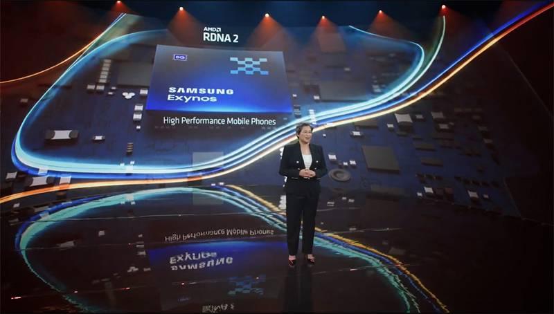 삼성의 차세대 엑시노스에 AMD GPU 기술이 적용된다. 출처=AMD