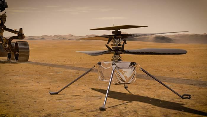 사상 최초로 지구 외 행성에서 비행한 인제뉴어티 (출처=NASA/JPL-Caltech)
