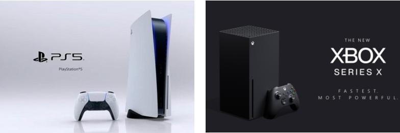 소니 PS5와 MS의 XBOX 시리즈X