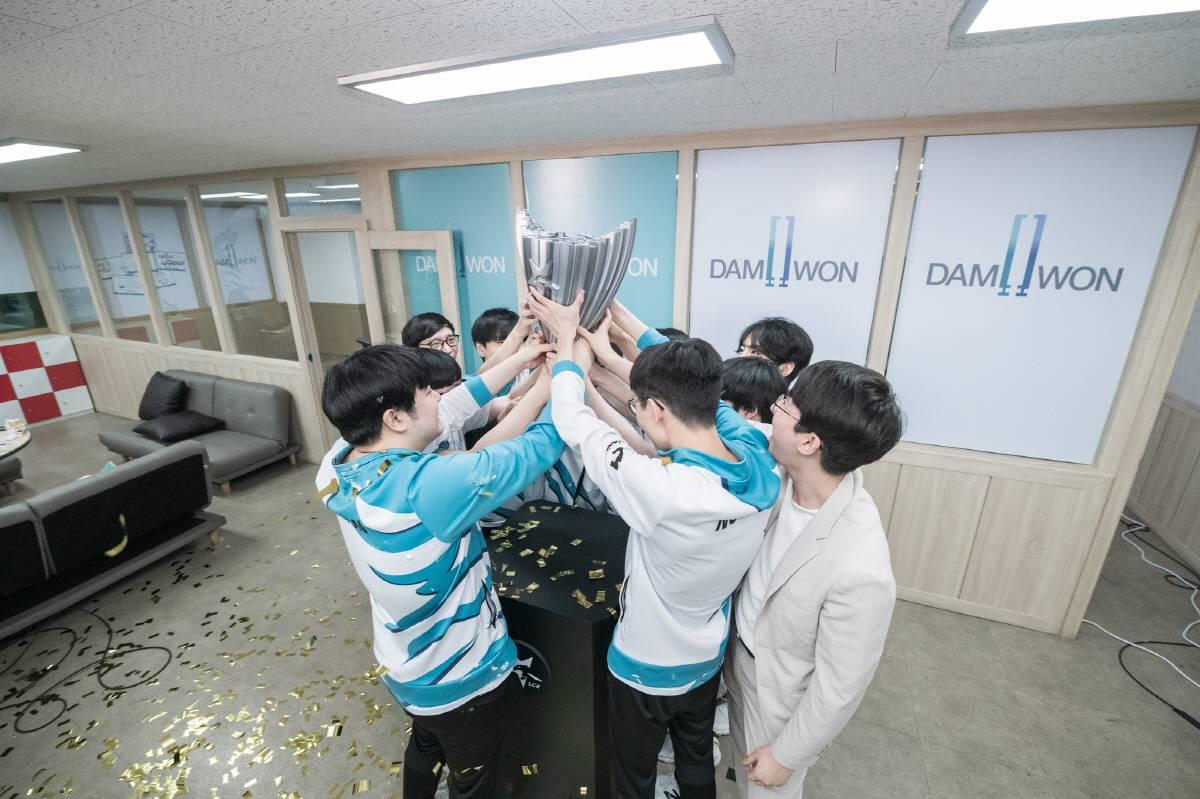LCK 서머 스플릿 우승팀 담원