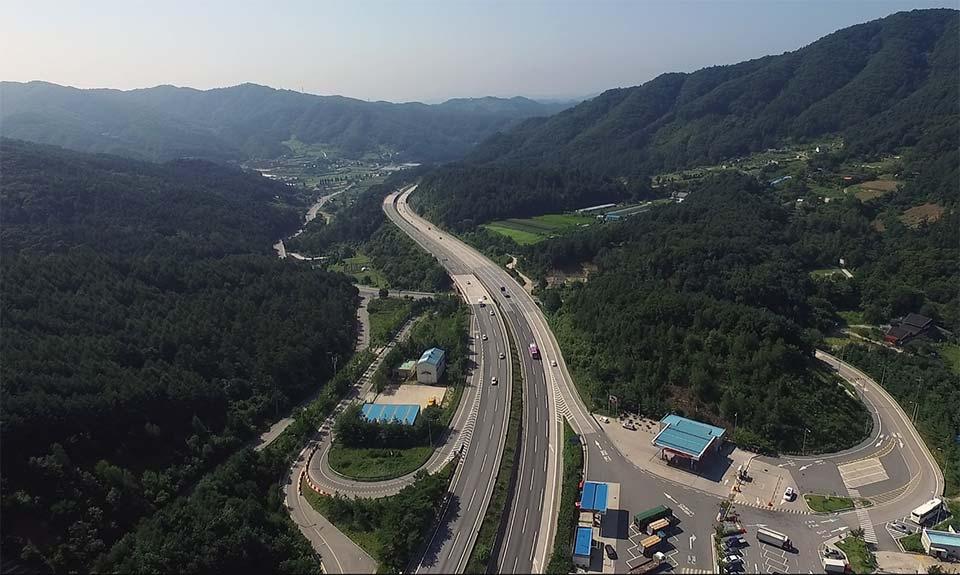 ▲ 서울-춘천간 고속도로