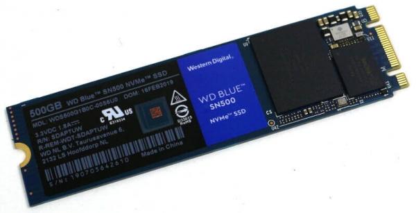 WD 블루 SN500