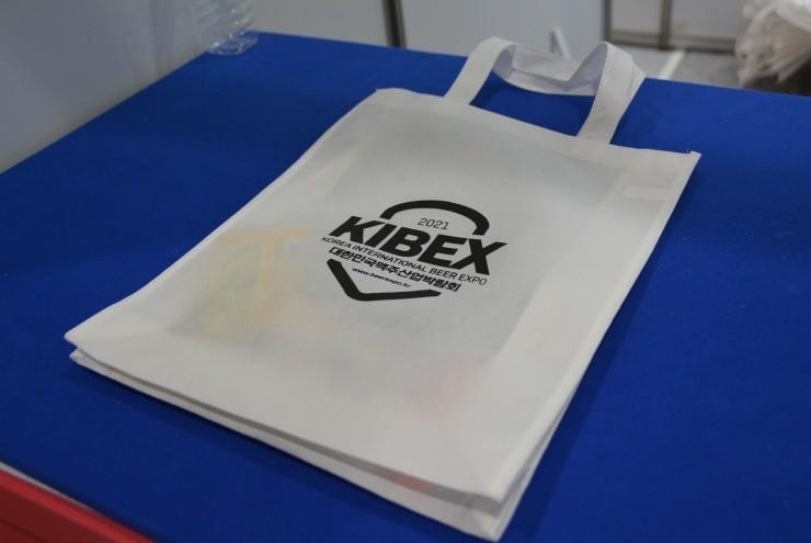 ▲ 박람회 키트데스크에서 나눠준 가방