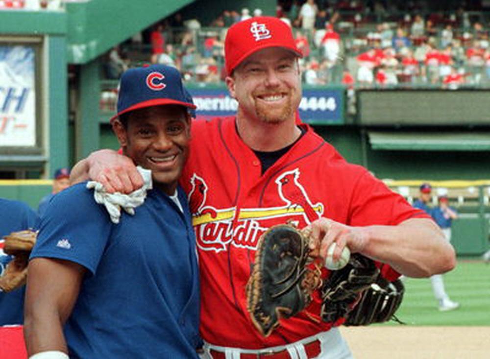 ▲ 새미 소사와 마크 맥과이어 (사진: MLB.com)