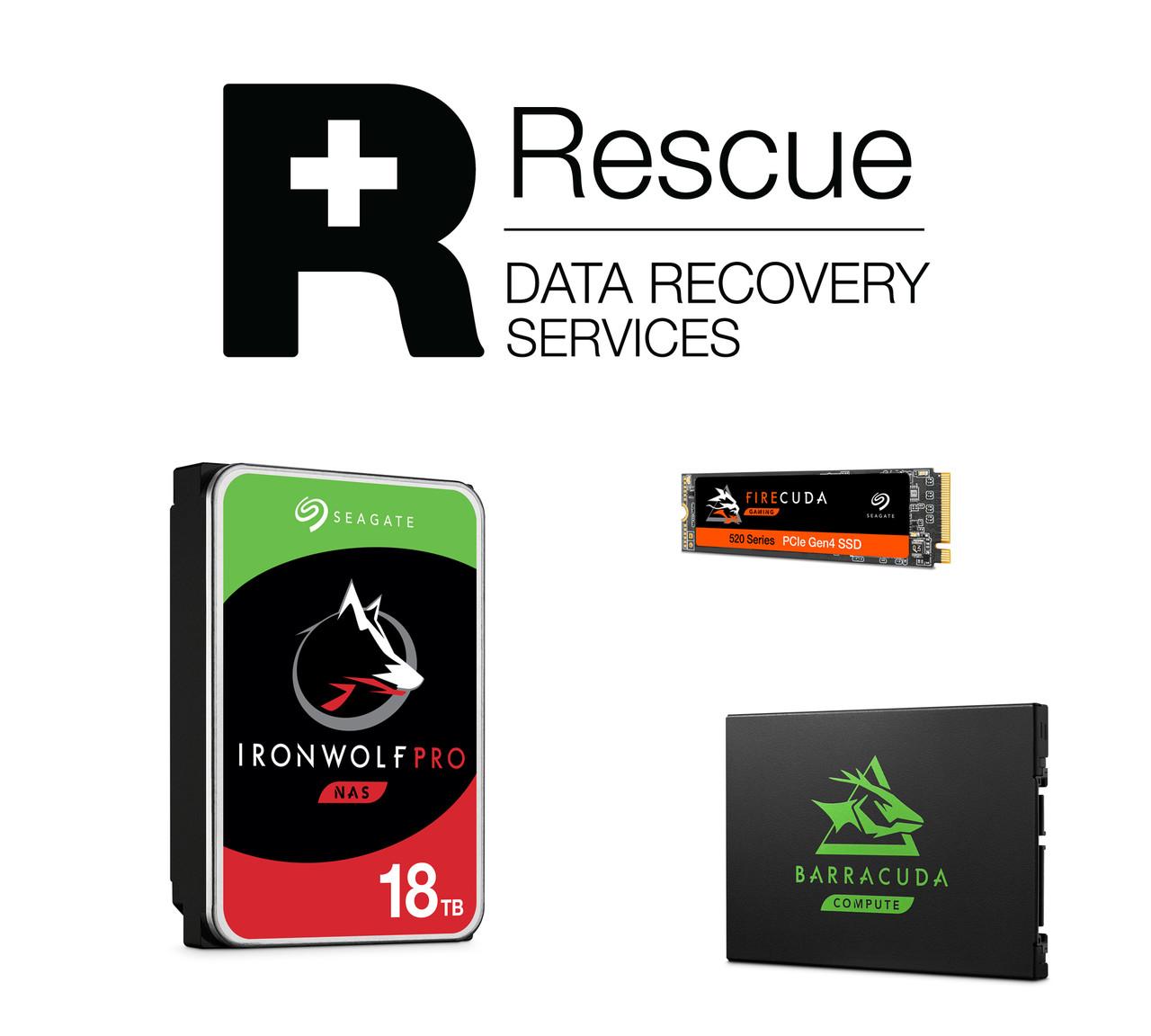 ▲ 씨게이트 정품 HDD · SSD 사용자를 위한 데이터 복구 서비스 '레스큐 플랜'