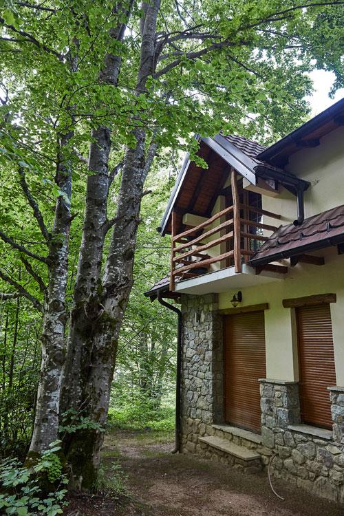 브레조비차에는 별장과 자연 친화적 숙박 시설이 몰려 있다