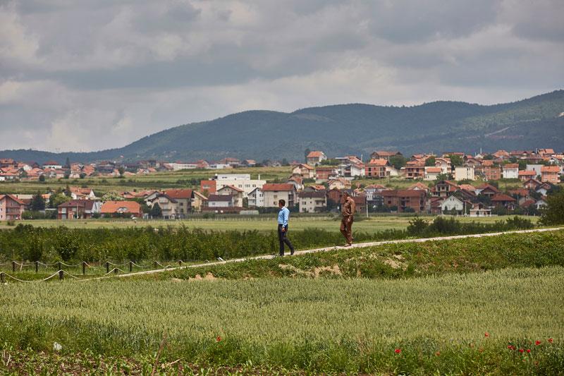 고대 로마의 유적이 발굴된 울피아나. 주변 풍경이 목가적이다
