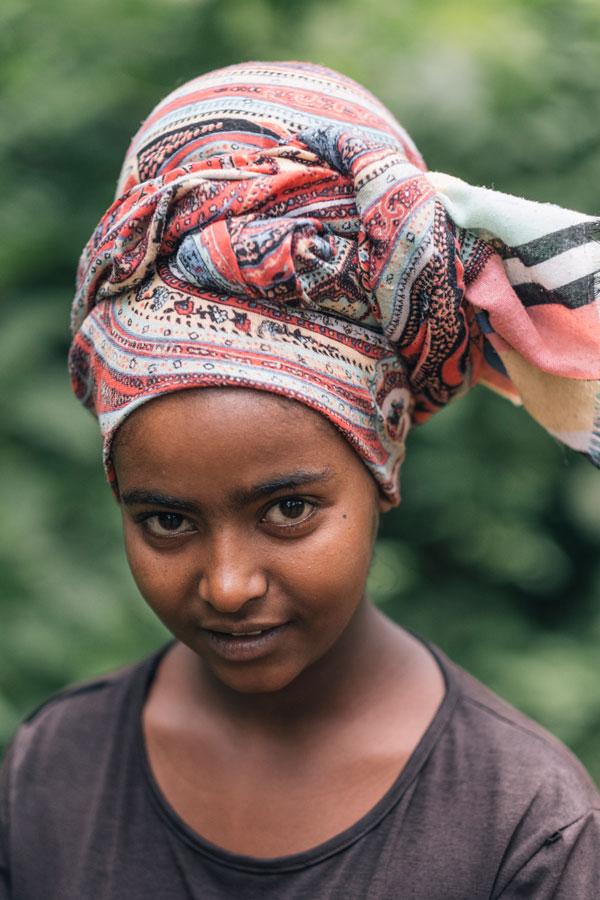 봉가에서 만난 에티오피아 소녀. 순수 가득한 커다란 눈망울이 인상적이다