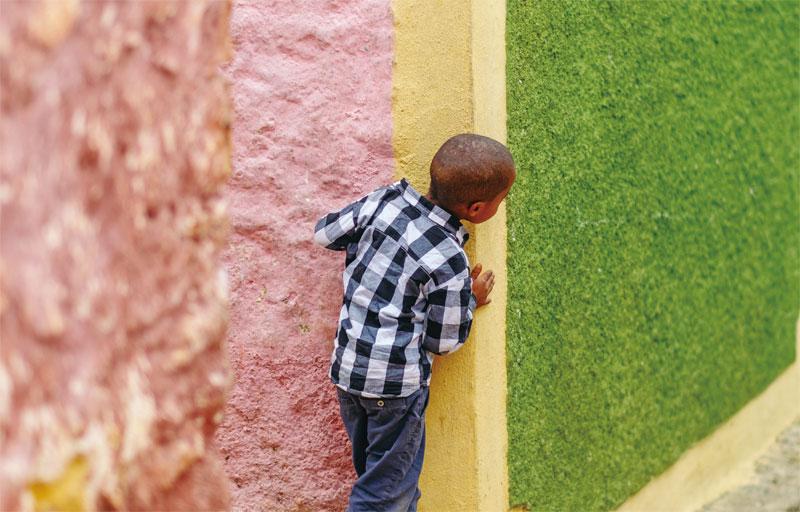 하라르는 에티오피아에서 가장 화려한 색감을 가진 골목이다