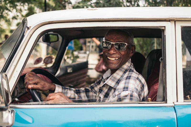 디레 다와의 택시 운전사