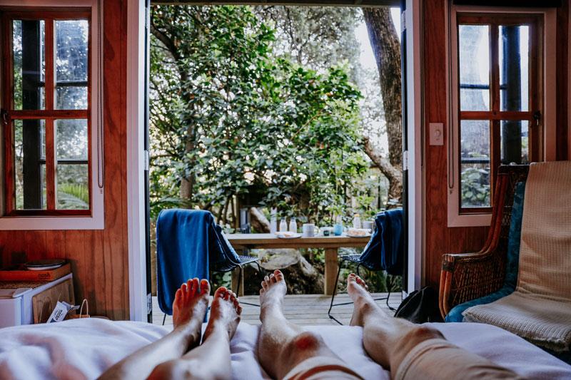창밖으로 숲이 펼쳐지던 뉴질랜드의 우리 집