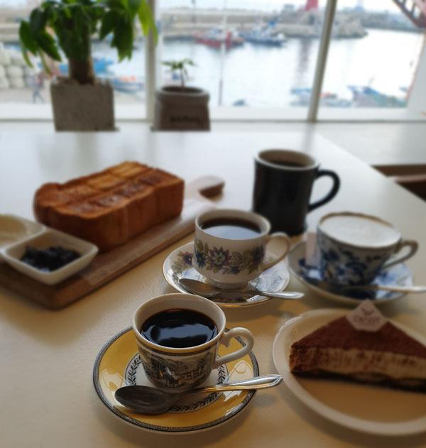 청사포 '디아트 커피'