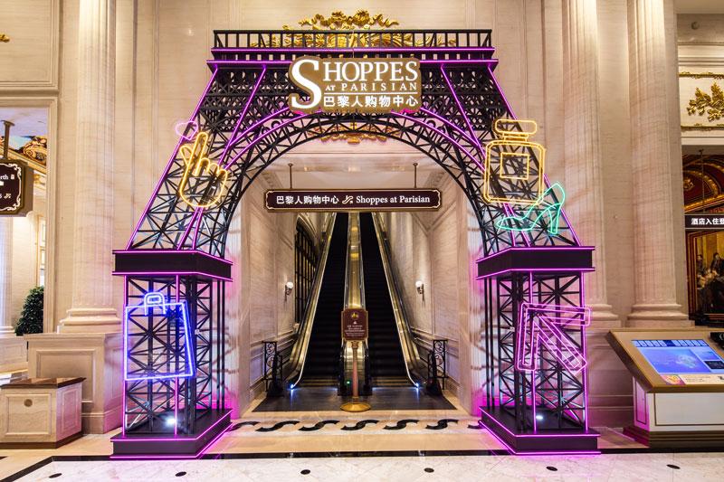 Parisian Neon Lighting Decoration