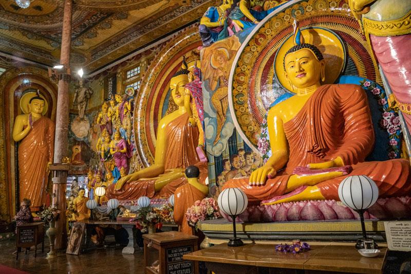 불교미술박물관을 연상케 하는 다양한 성보들