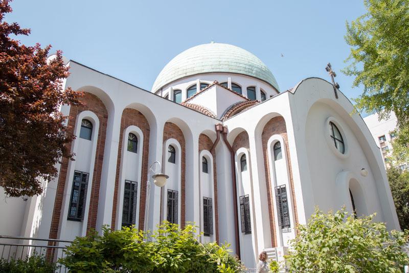 이국적인 모습의 성니콜라스 대성당