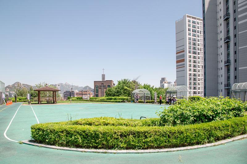 만리배수지 공원